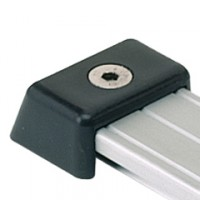ANT691341 - Antal T Track 40 x 8 End Fitting - Plastic