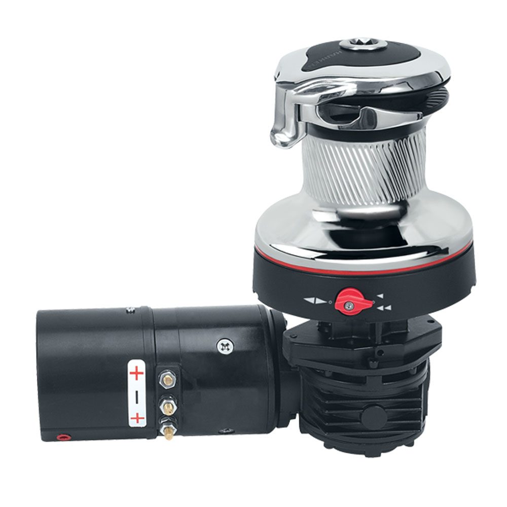 Traveller Winch: Harken Electric Winch: Rewind Radial Self-Tailing Size 46