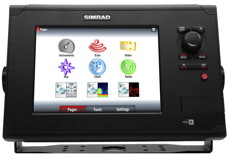 NavPods for Simrad Electronics | Mauri Pro