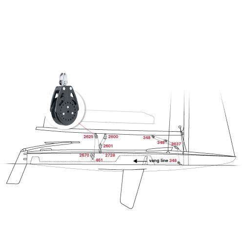 Melges MC Scow Sailboat Parts and Sailing Equipment   Mauri Pro