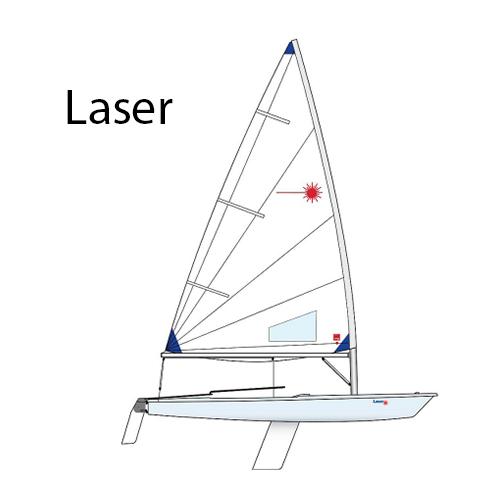 laser sailboat parts and equipment