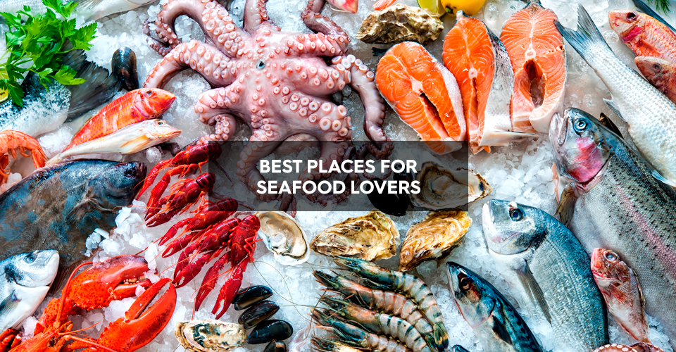 Best places for seafood lovers