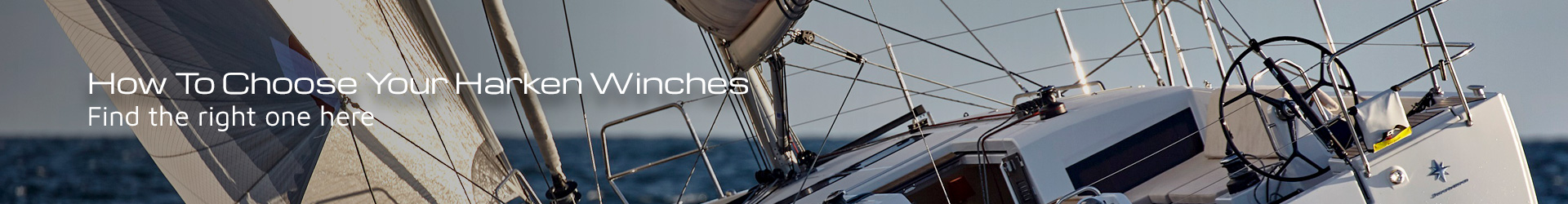 How To Choose Your Harken Winches