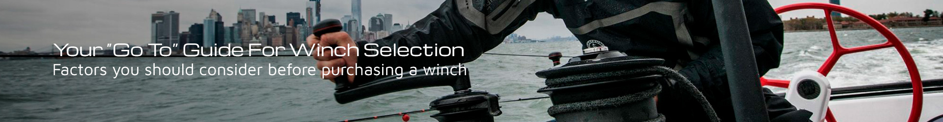 Discover your Go To guide for Winch selection!